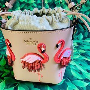 Flamingo pippa by the pool warm vellum crossbody
